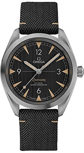 Omega Seamaster Railmaster Co-Axial Master Chronometer Mens Watch 220.12.40.20.01.001