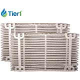 Tier1 AF413 Comparable Replacement for Aprilaire 413 Replacement Air Filter For Models 2410, 3310 & 4400, 2 Pack