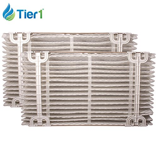 Aprilaire 410 Replacement Filter for Models 1410, 2410, & 3410 Air Purifiers, 2 Pack