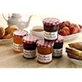 Bonne Maman Assorted 1 oz - Strawberry, Apricot, Raspberry, Orange, Cherry, Honey, Grape, Blueberry - 8 jars