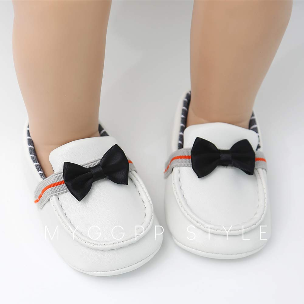 Baby Boys Girls Slip-on Loafers Soft Sole Moccasins Toddler Dress Flat Shoes Sneakers Infant Crib Shoes
