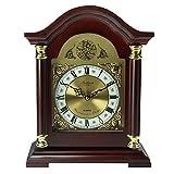 Bedford Clock Collection Redwood Mantel Clock