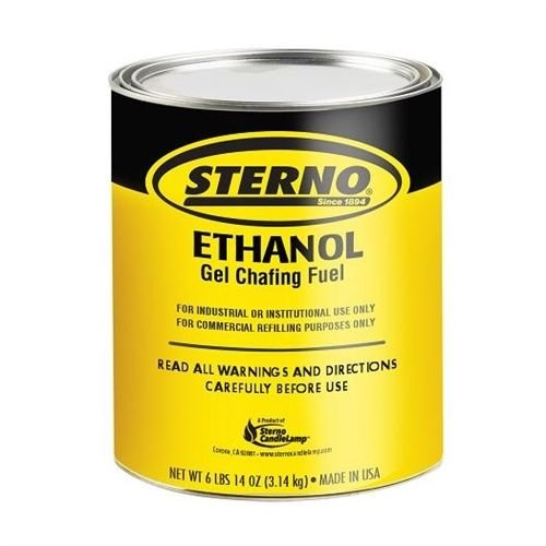 Sterno Ethanol Gel - 1 Gal ( Case of 4)