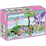 PLAYMOBIL Royal Children with Pegasus and Baby Playset