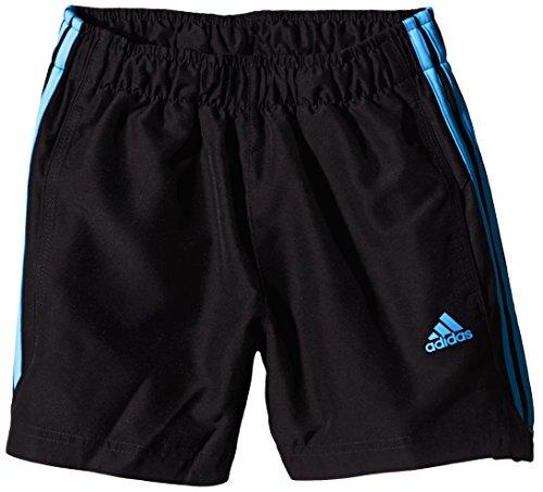 adidas Jungen Essentials 3 Streifen Chelsea Shorts, Schwarz/Blau, 110, AC1665
