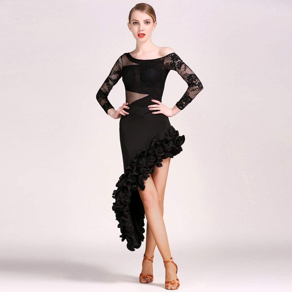 Amazon.com: Disfraz de danza latina para mujer, vestido ...