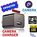 SpyGear-MAIK UBS Hidden Camera Charger | 2in1 Charger & Hidden Camera With Audio | Nanny Cam | Baby & Pet Monitoring Hidden Spy Camera USB | Motion Detection |32GB Included |1080P HD| - MAIK