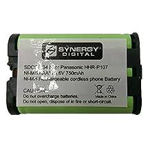 Panasonic PQSUHGLA1ZA Cordless Phone Battery 3.6 Volt, Ni-MH 700mAh - Replacement For PANASONIC HHR-P107 Cordless Phone Battery