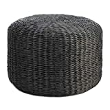 Accent Plus 10018735 All-Weather Wicker Ottoman Multicolor