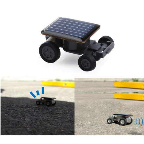 Solar Power Energy Mini Children Toy Car Funny Racing Racer Educational - Racer Mini Solar