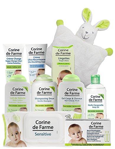 Offre découverte de 10 produits Soins et Toilette bébé Corine de Farme