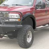 99-07 Ford F250 F350 Superduty Series Pickup Truck Bolt On Style 4pcs Texture Finish Fender Flare