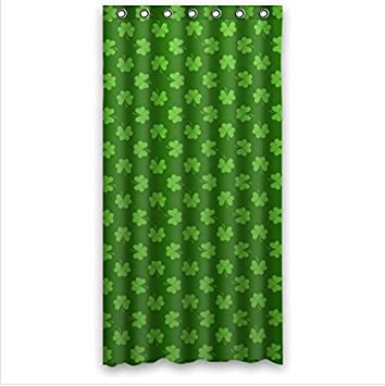 Curtains Ideas 36 wide shower curtain : Amazon.com: fashion design Irish Shamrock,beautiful Shamrock art ...