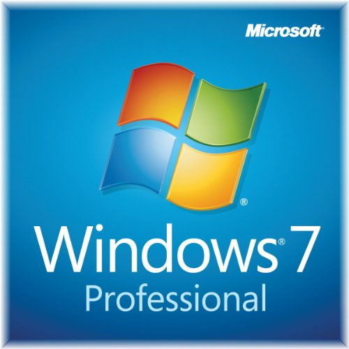 Windows 7 Professional SP1 64bit (OEM) System Builder DVD 1 Pack (New - Windows