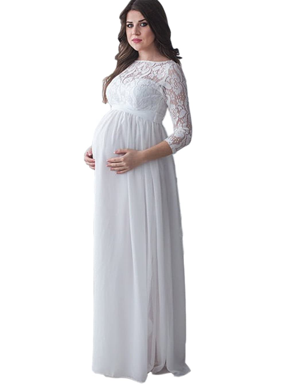 69c36dc4f5 Lace Maternity Wedding Dresses | Huston Fislar Photography