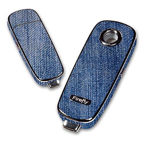 Decal Sticker Skin WRAP - Firefly Vaporizer - Denim Jeans Pants Blue Jean -