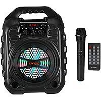 EARISE T26 Draagbaar PA-systeem met draadloze microfoon, PA-geluidsinstallatie, bluetooth-luidspreker, karaoke-machine…