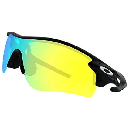 2d75acf100e Amazon.com  Dynamix Polarized Replacement Lenses for Oakley RadarLock Path  - Multiple Options  Clothing