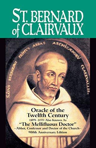 St. Bernard of Clairvaux: Oracle of the Twelfth Century Pdf