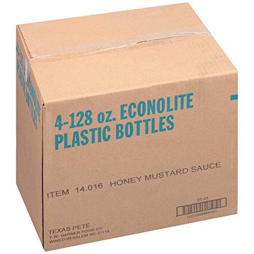 Texas Pete Honey Mustard Sauce, 1 Gallon -- 4 ()
