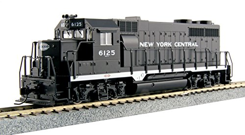 New York Central Railroad Train - Kato USA Model Train Products EMD GP35 #6125 Phase La New York Central Train