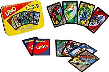 uno jeu de carte Batman Jeu de cartes Uno édition spéciale: Amazon.co.uk: Toys & Games