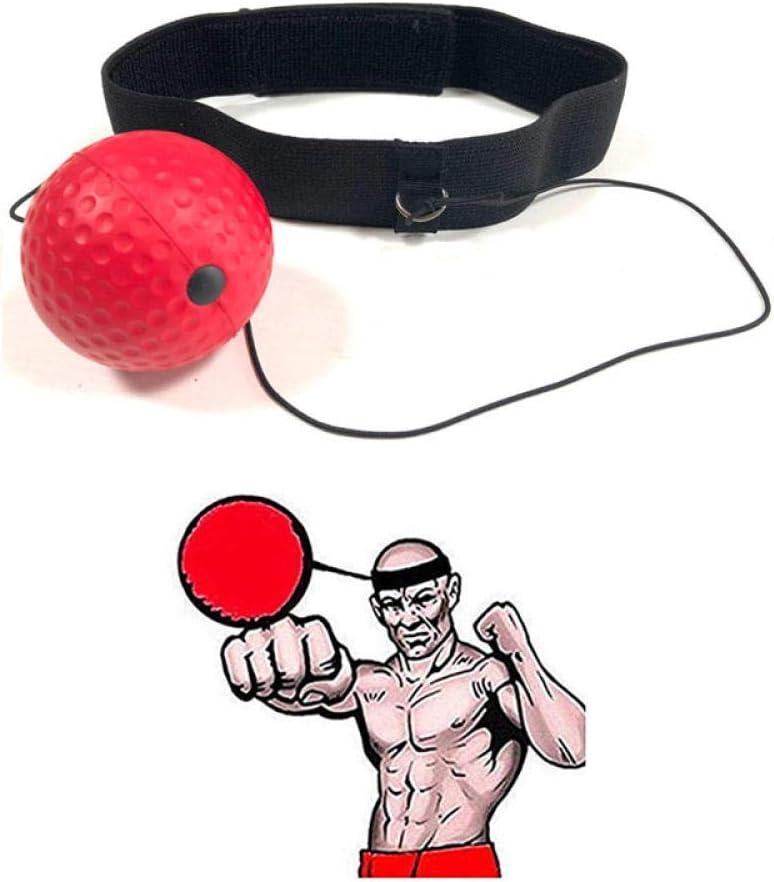 PU Ball Head-mounted Boxing Magic Ball Fit Reflex Speed Boxer Training Punch