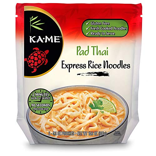 Ka-Me Express Rice Noodles, Pad Thai, 10.6 Ounce (Pack of 6)