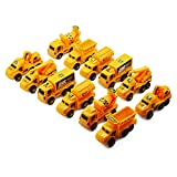 Amity impex Working Construction & Transport Truck Toy Set of 12 Trucks