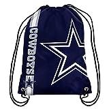 NFL Dallas Cowboys Big Logo Drawstring Backpack, 18 In. X 13.5 In.