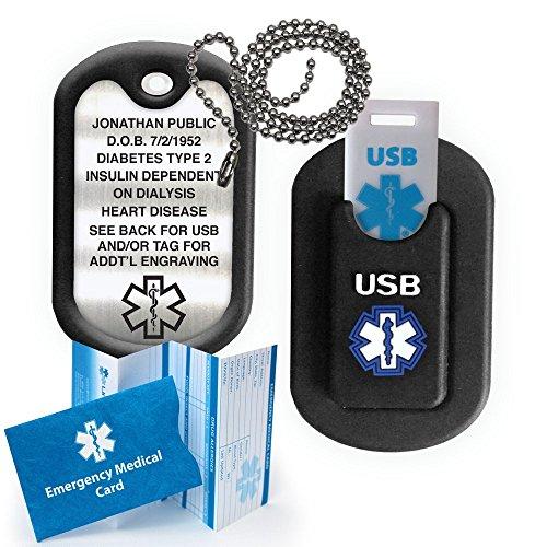 Medical Alert INFORMER USB Dog Tag - ()