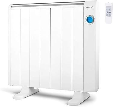 Orbegozo RRE 1310 Emisor Térmico Bajo Consumo, 7 Elementos de Calor, Pantalla Digital LCD, Mando...