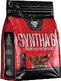 BSN SYNTHA-6 Whey Protein Powder, Micellar Casein, Milk Protein Isolate Powder, Chocolate Milkshake, 97 Servings (Package May Vary)