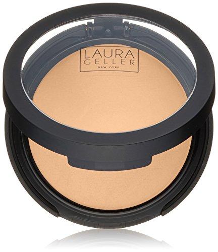 Laura Geller New York Double Take Baked Versatile Powder Foundation, Tan