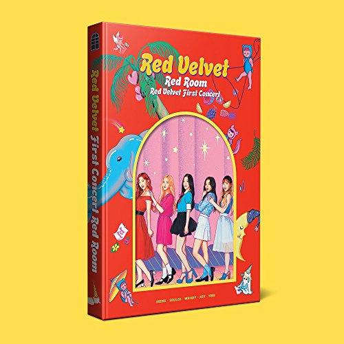 SM Entertainment RED VELVET - RED VELVET First Concert RED ROOM Photobook+Pet Bookmark+Free ()