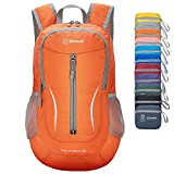 ZOMAKE Ultra Lightweight Packable Backpack, 25L Small Water Resistant Hiking Daypack Foldable Travel