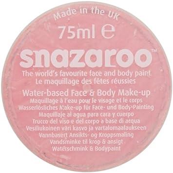 Snazaroo - Maquillaje al agua para cara y cuerpo (75 ml)- color pale pink: Amazon.es: Juguetes y juegos