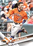 2017 Topps Series 2 #644 Jose Altuve Houston Astros Baseball Card