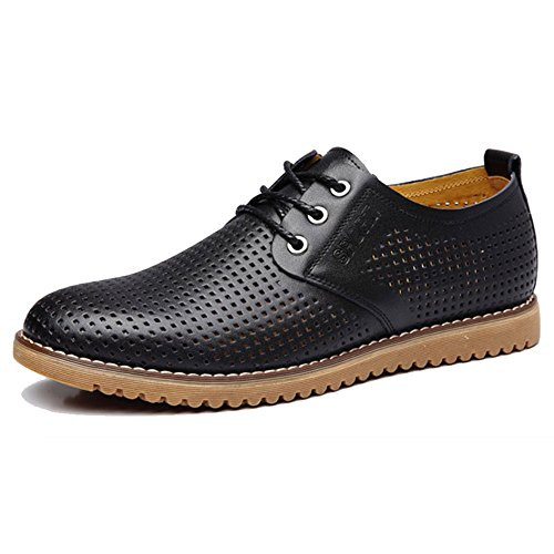Huecos Zapatos Negocios Hombres Casuales De para Sandalias Black Transpirables Zapatos Verano De qgZ6xqvw