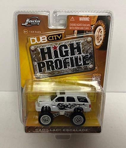 (Cadillac Escalade HIGH PROFILE Dub City Jada Toys 1/64 scale diecast 2005 Wave 1)