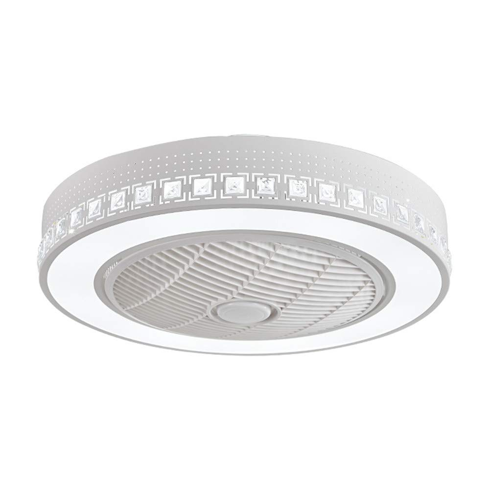 Ceiling Light Fan, Creative Remote Control Dimmable LED Light, Silent 3 Speed Ceiling Fan with Timer Switch for Nursery Bedroom