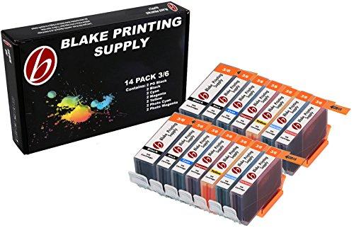 15 Pack Blake Printing Supply BCI3 Ink Cartridges for CANON BJC-3000 BJC-6000 BJC-6100 BJC-6200 Multipass C100 Multipass C400 Multipass C755 S400 (6200 Printer Inkjet Cartridge)