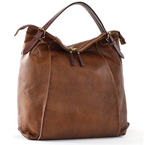 Ladies Coffee Handbags Coffee School Brenice Backpack Vintage Business for Shoulder Multifunction for Waterproof Tote Cowhide Women Travelling Bags Capacity Large wUU8IqH