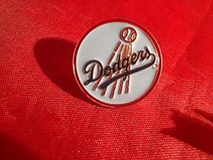 Los Angeles Dodgers Circle Logo MLB Baseball Hat Lapel Pin