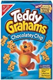 Teddy Grahams Graham Snacks, Chocolatey Chip 10 Oz (Pack of 3) by Nabisco Food Company [Foods]