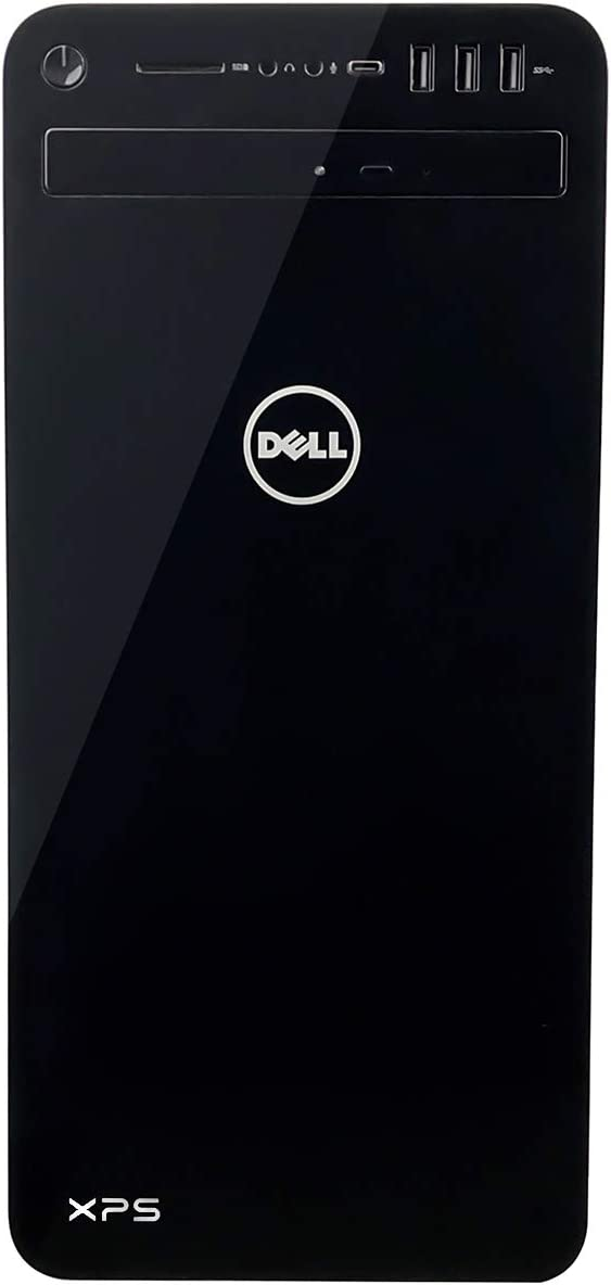 Dell XPS 8930-7764BLK-PUS Tower Desktop - 8th Gen. Intel Core i7-8700 6-Core up to 4.60 GHz, 8GB DDR4 Memory, 1TB SATA Hard Drive, Intel UHD Graphics 630, DVD Burner, Windows 10 Pro, Black