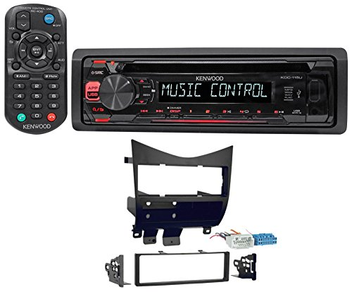 2003-2007 Honda Accord Kenwood CD Player Receiver Stereo MP3/USB/Aux+Remote (Car Speakers For Honda Accord compare prices)