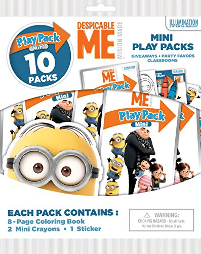 Despicable Me Bendon Mini Play Packs