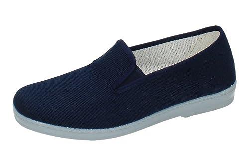 MADE IN SPAIN 300 Zapatilla DE Lona Hombre Zapatillas: Amazon.es: Zapatos y complementos