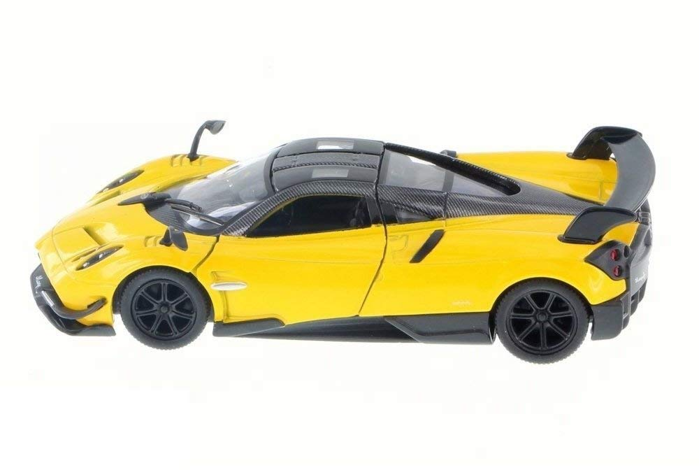 Pagani Huayra BC Modello Super Sports Car Scala 1:38 Porte di apertura in metallo pressofuso Kinsmart